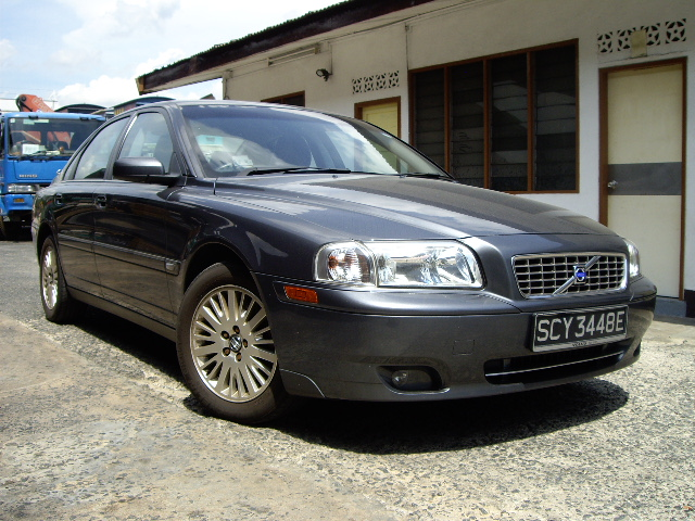 Volvo S80 2.0T 2004 Grey - Used Car Singapore Used Car Exporter Cars ...