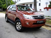 Toyota Fortuner 2.7A 2005 Red