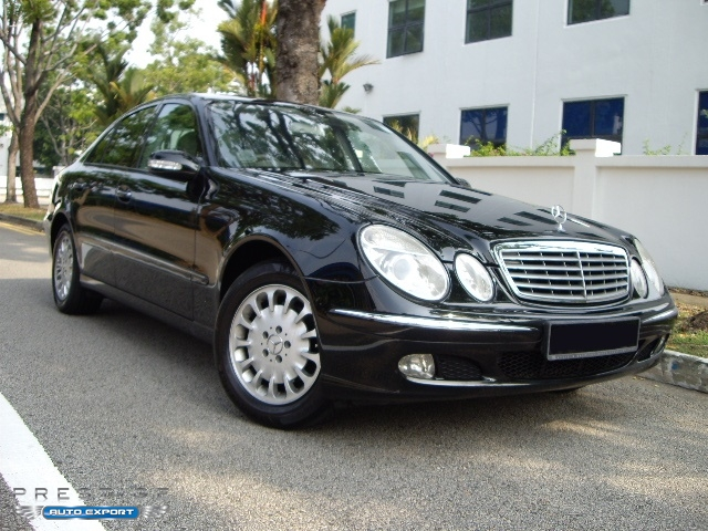 Mercedes benz e240 2004 for export singapore used cars for Mercedes benz singapore