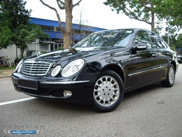 Mercedes benz e240 2004 for export singapore used cars for E240 mercedes benz