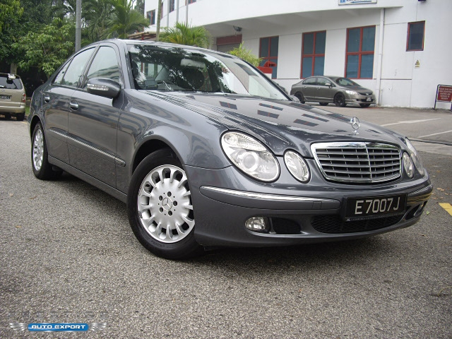 Mercedes benz e200k 2005 for export singapore used cars for Mercedes benz singapore