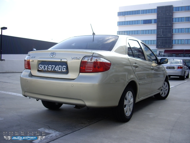 Toyota Vios 1 5e 2006 2006 For Export Singapore Used