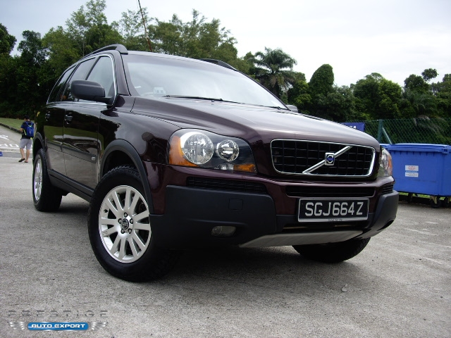 volvo xc90 2 5t 4wd 2006 for export singapore used cars exporter import used car vehicles. Black Bedroom Furniture Sets. Home Design Ideas