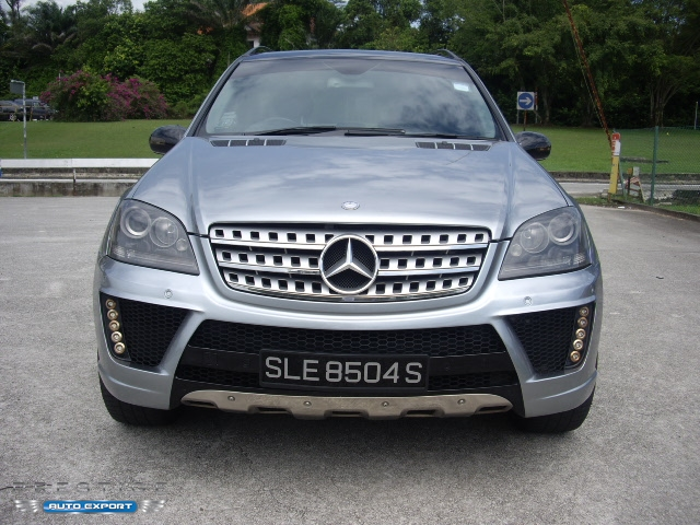 Mercedes benz ml350 7 g tronic 4wd blue 2006 for export for Mercedes benz singapore