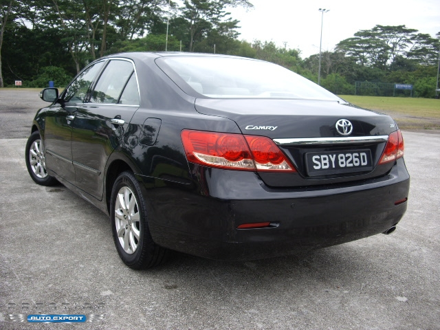 toyota camry 2 0a 2006 black 2006 for export singapore used cars exporter import used car vehicles. Black Bedroom Furniture Sets. Home Design Ideas
