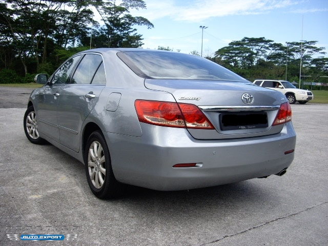 toyota camry 2 0a 2007 blue new shape 2007 for export singapore used cars exporter import used. Black Bedroom Furniture Sets. Home Design Ideas