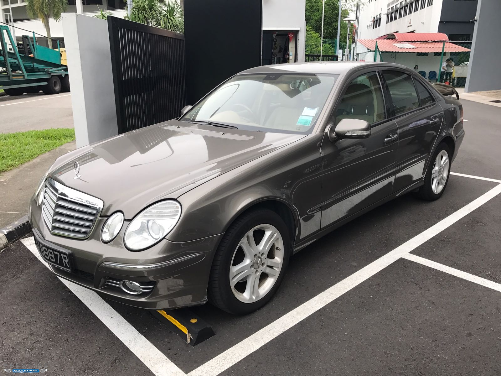 Mercedes benz e230 7g tronic 7g tronic 2007 for export for Mercedes benz e230