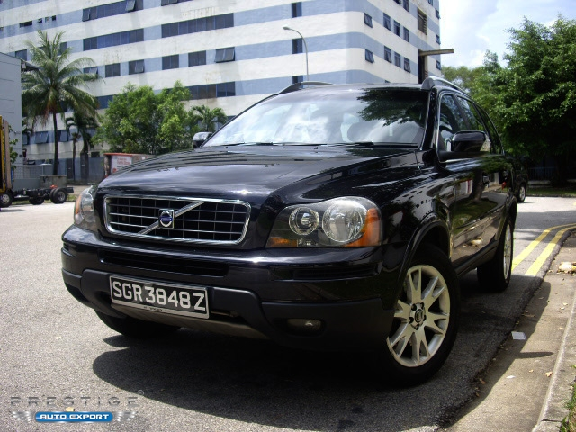 volvo xc90 2 5ta 2007 4wd 7 seater 2006 for export. Black Bedroom Furniture Sets. Home Design Ideas
