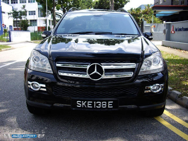 Mercedes benz gl450 4matic black 2006 for export for Mercedes benz 2007 gl450 accessories