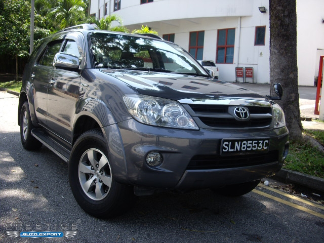 toyota fortuner 2 7a 4x4 2007 for export singapore used cars exporter import used car vehicles. Black Bedroom Furniture Sets. Home Design Ideas