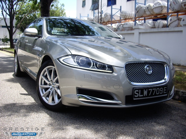 Beautiful Jaguar XF 2.0 GTDI Luxury 2013 For Export   Singapore Used Cars Exporter  Import Used Car Vehicles