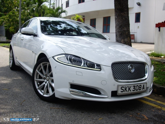Jaguar XF 2.0 GTDI Luxury 2013 For Export   Singapore Used Cars Exporter  Import Used Car Vehicles