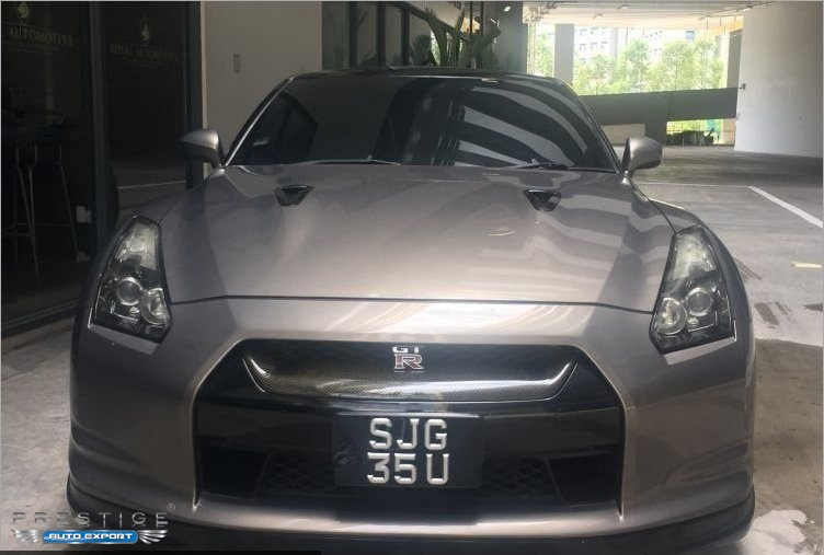 Nissan GTR 3.8A 2008 For Export   Singapore Used Cars Exporter Import Used  Car Vehicles