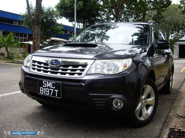 Subaru Forester XT Turbo 4WD Sunroof 2012 2012 for Export
