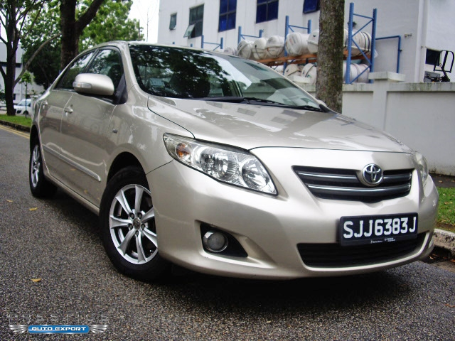 Toyota Corolla Altis 1 6a 2008 Beige 2008 For Export