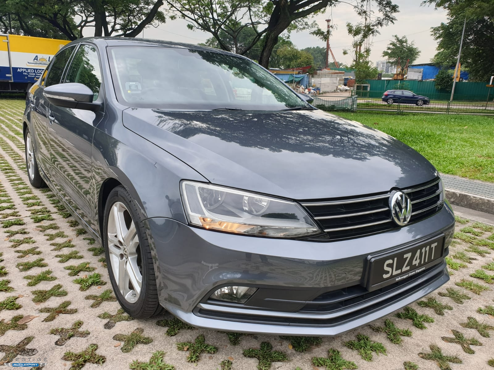 volkswagen jetta 1 4 tsi 2015 sports grey dvd 2015 for export singapore used cars exporter. Black Bedroom Furniture Sets. Home Design Ideas