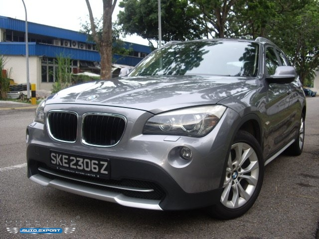 bmw x1 sdrive18i at sunroof grey 2011 for export. Black Bedroom Furniture Sets. Home Design Ideas