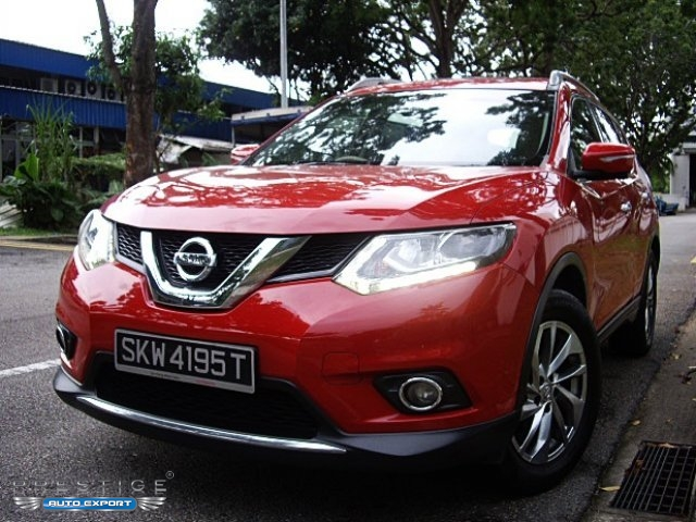 Nissan X-Trail 2.0 CVT Sunroof 2015 4WD Red 2015 for ...